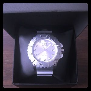 STUNNING Emporio Armani silver watch! (Sz: Mens)